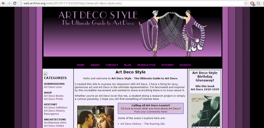 Art-Deco-Style.com December 2010