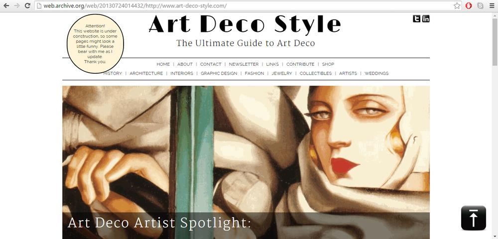 Art-Deco-Style.com July 2014