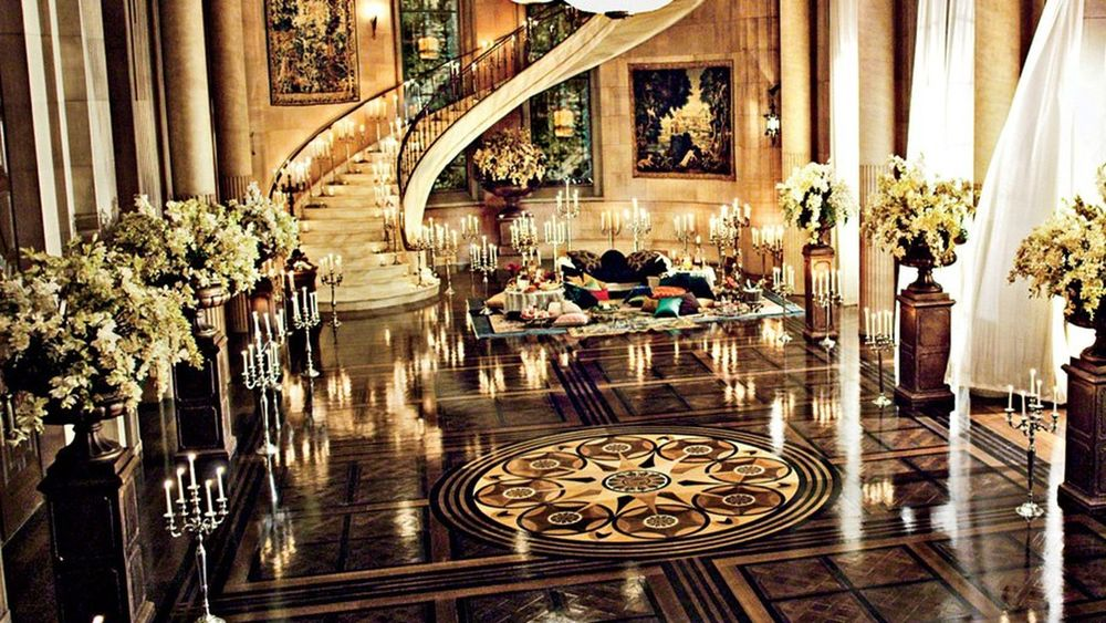 Opulent Art Deco Interior - The Great Gatsby movie