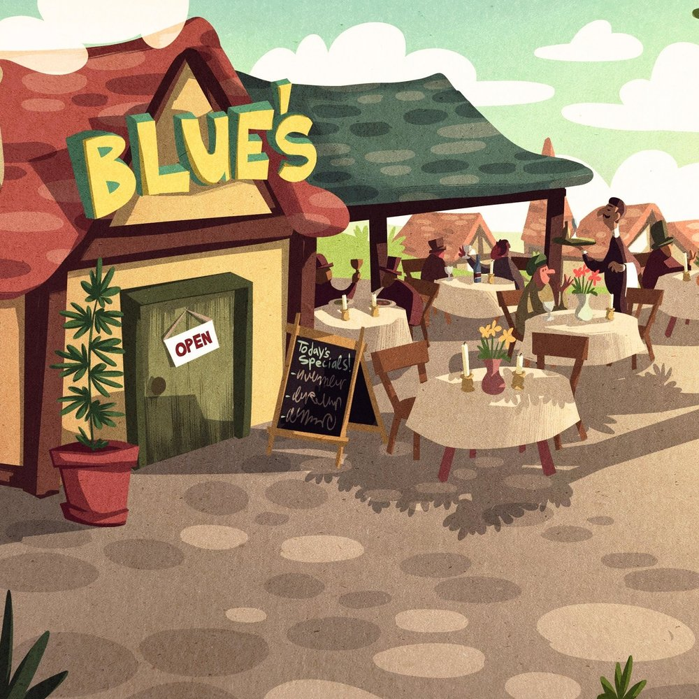 Blue's restaurant
