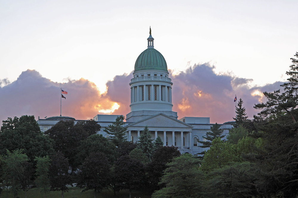 Maine State Capitol - Augusta, Maine