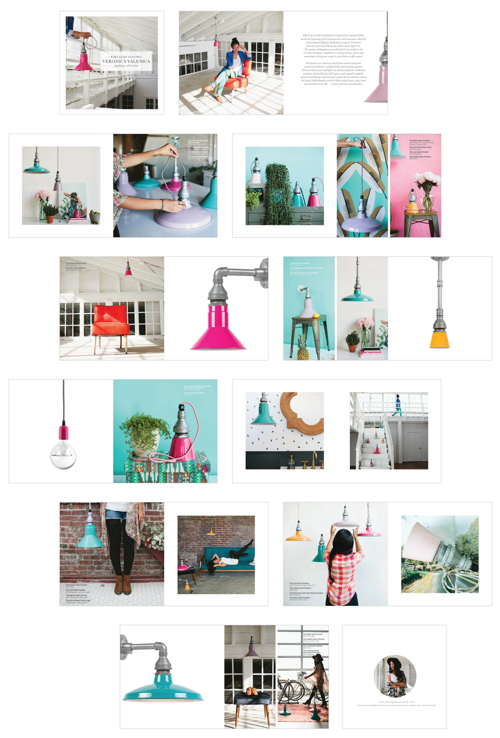 Barn Light Electric (Veronica Valencia Collection) lookbook