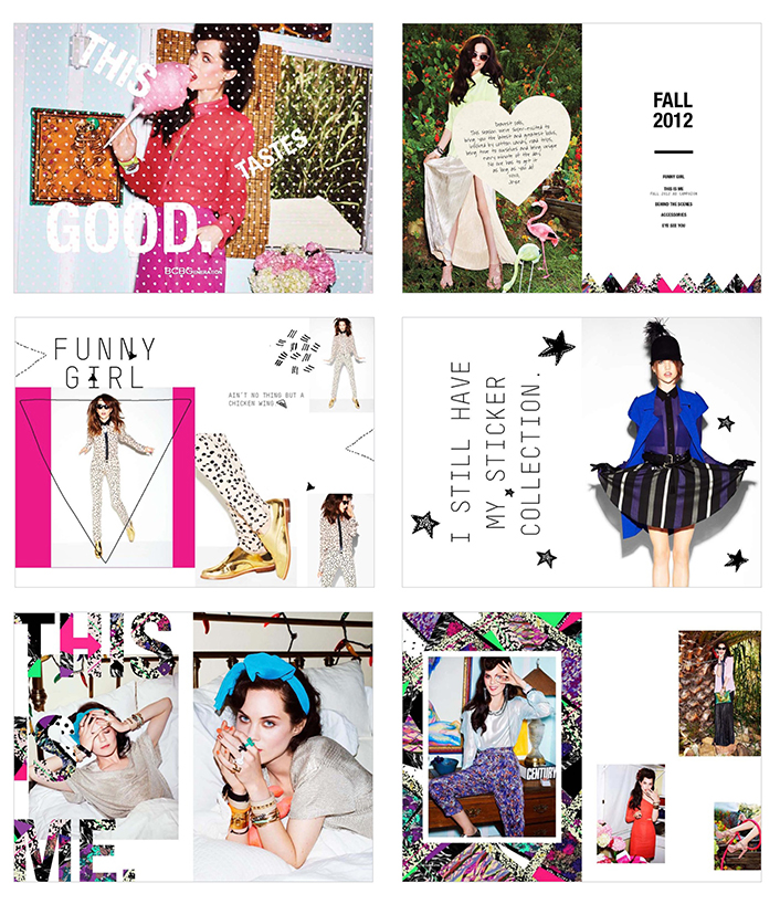BCBGeneration fall '12 look book