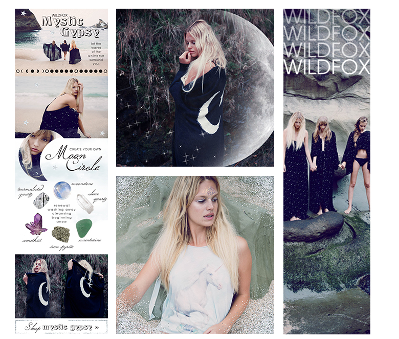 Wildfox test project | e-blast, social assets, banners