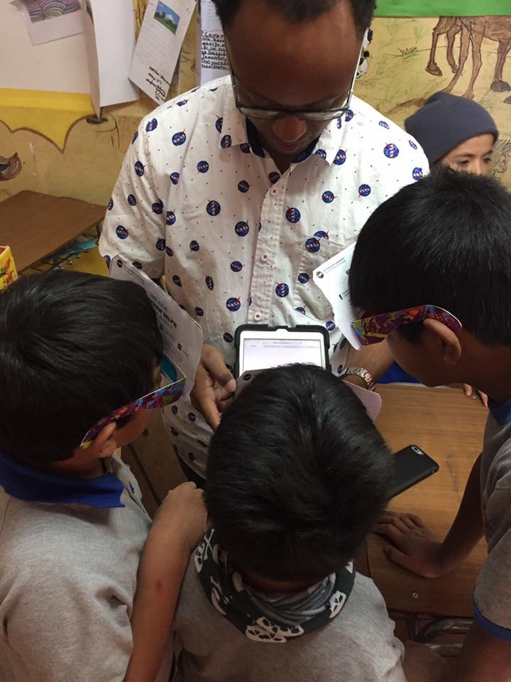 Students worked on augmented reality 3D NASA JPL projects, and Google Making + Science projects (2).JPG