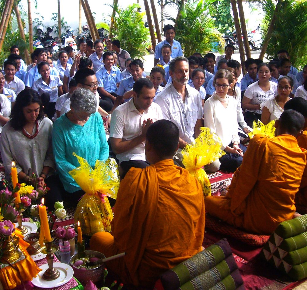 Spoons Cafe Ceremony blessing by monks.jpg