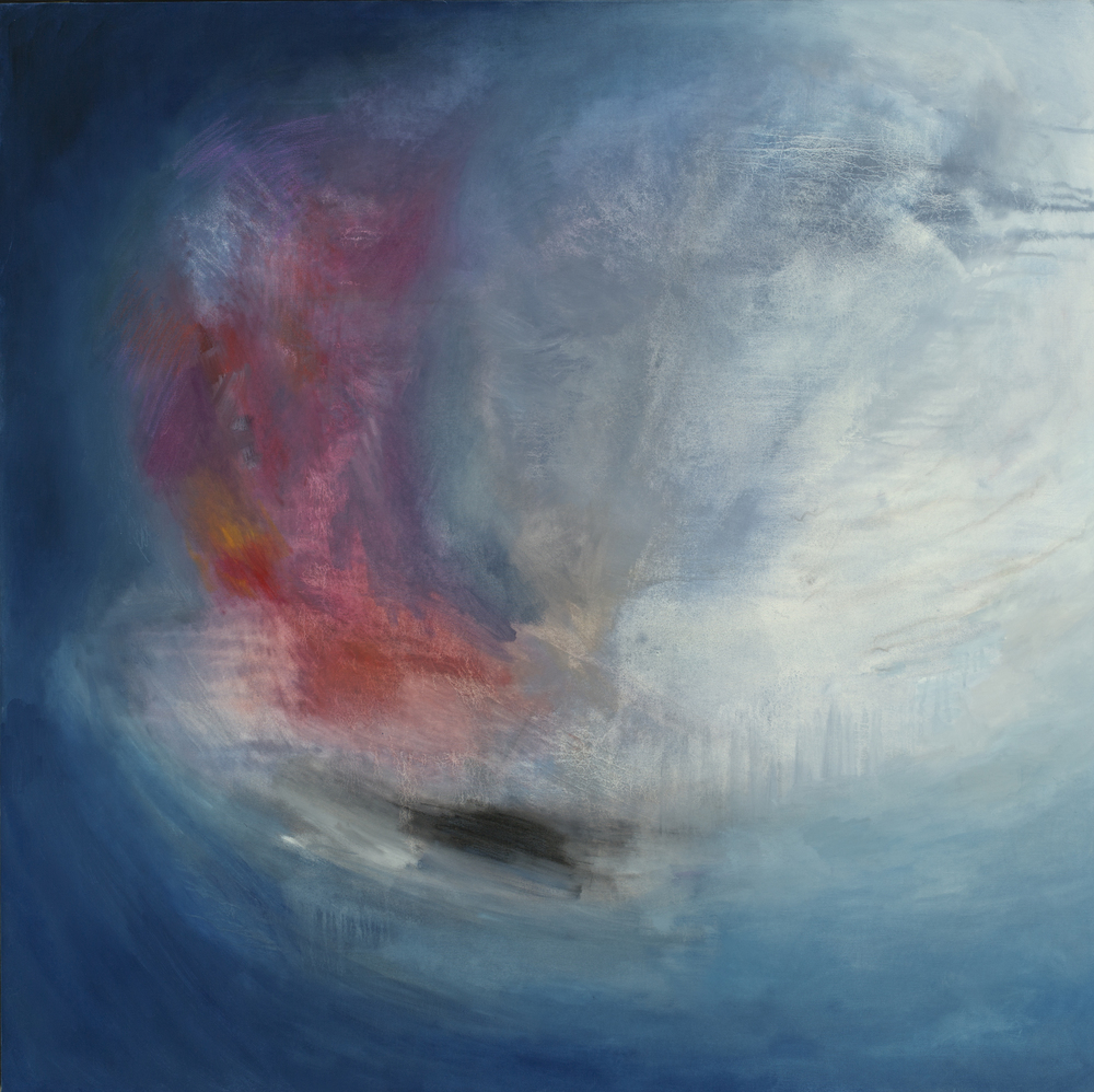 "Primary , oil on canvas, 48"" x 48"""