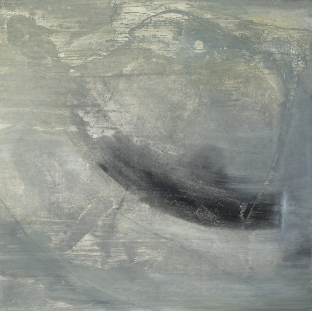 """Depths, o il on canvas, 48"""" x 48"""""""