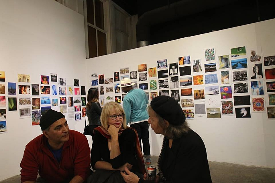 Snap to Grid Opening Reception, 12/15/16