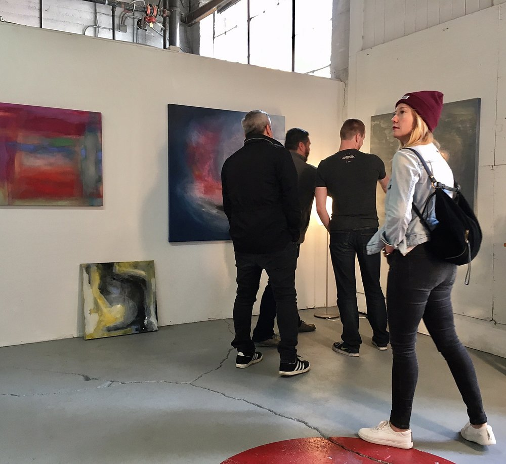 Artspan Citywide Open Studios (New studio on the first floor) – November 5, 2016