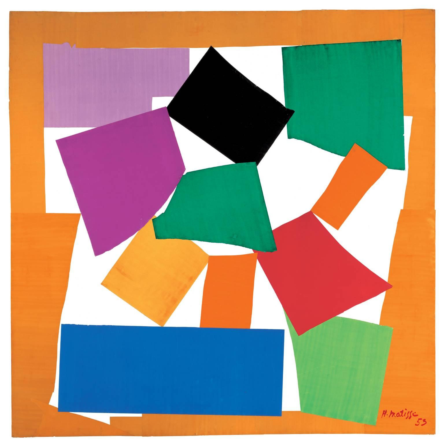 The Snail 1953 Henri Matisse - Tate