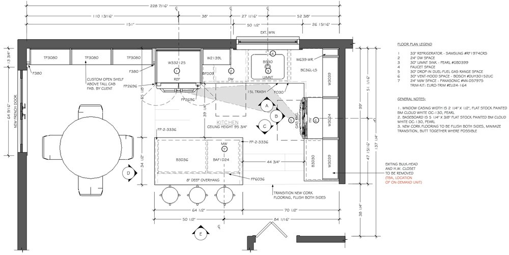 Construction drawings (CAD) for design-build