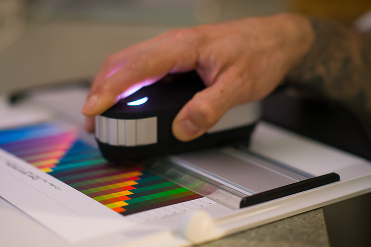 Color printer calibration