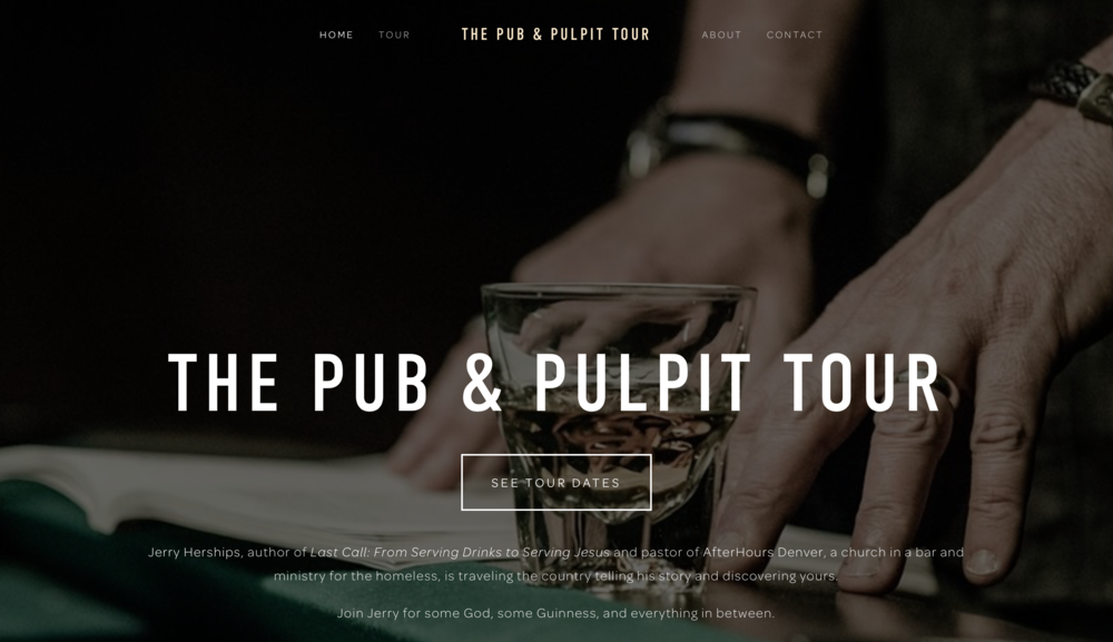 The Pub & Pulpit Tour