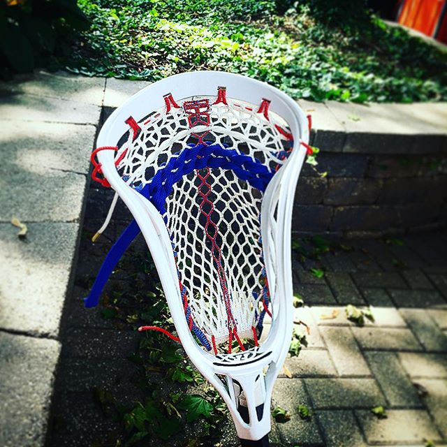 New #bladeog with #thronefiber #laxbomb #lax #lacrosse #goldstandard #throne #throneofstring #thronelacrosse