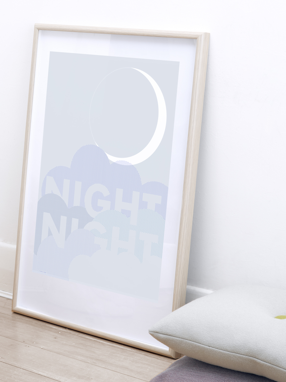 FRIDAY & TODAY • Night Night Poster • Styled by @friday_andtoday • Available at www.fridayandtoday.com