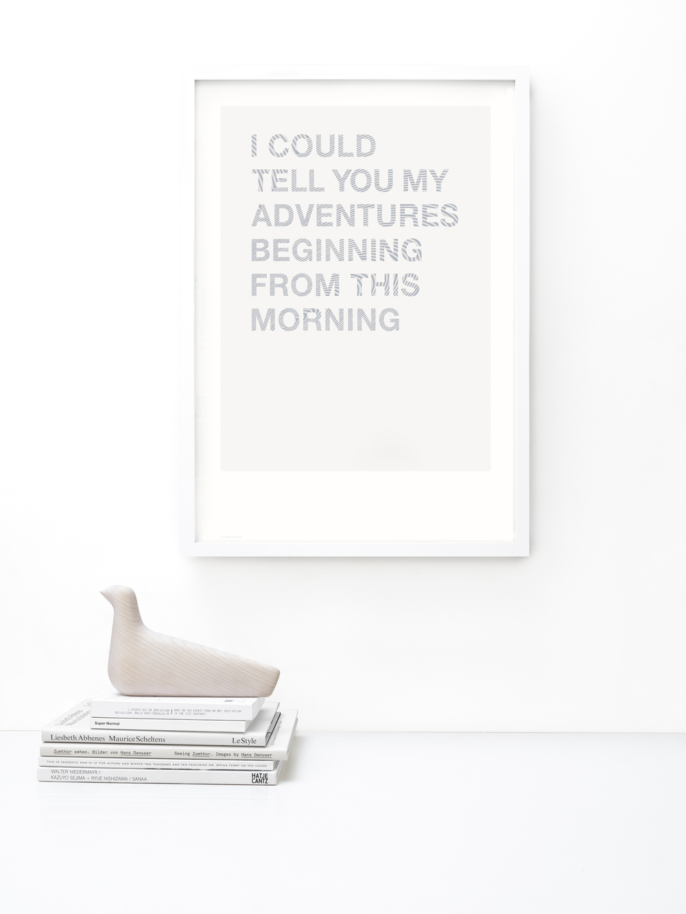 FRIDAY & TODAY • I Could Tell You... Poster • Styled by @friday_andtoday • Available at www.fridayandtoday.com
