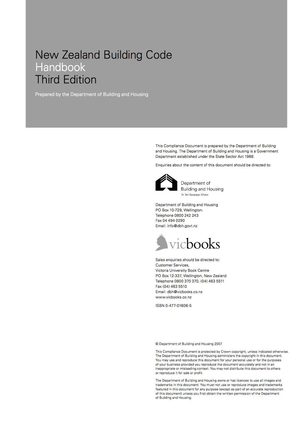 Building Code Handbook