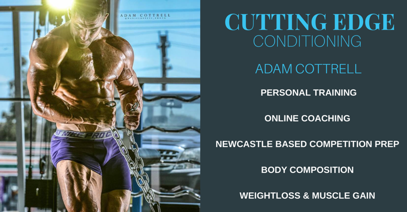 Cutting Edge Conditioning - Adam Cottrell - Coach at Strength Republic
