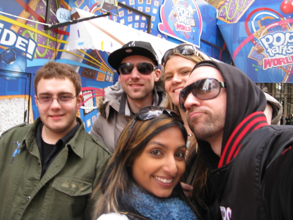 The Movement Fam & Cyclops in NYC