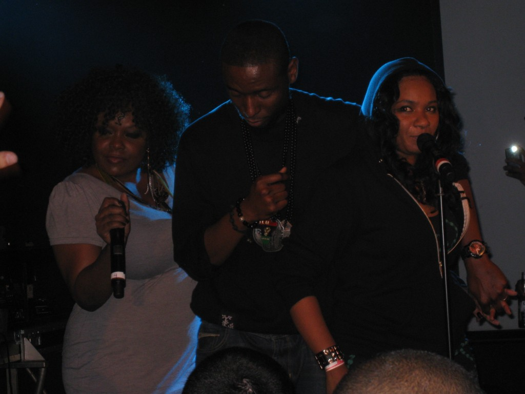 Mela Machinko, 9th Wonder & Jean Grae @ Duck Down Showcase, CMJ