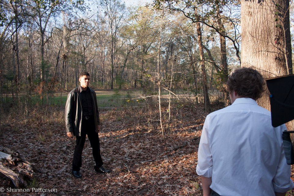 "Christian as Wraith in ""Redemption"" directed by George Watson. Photographed by Shannon Patterson. January 2013."
