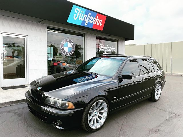 #stealth mode activated This #e39 #wagon looking #clean