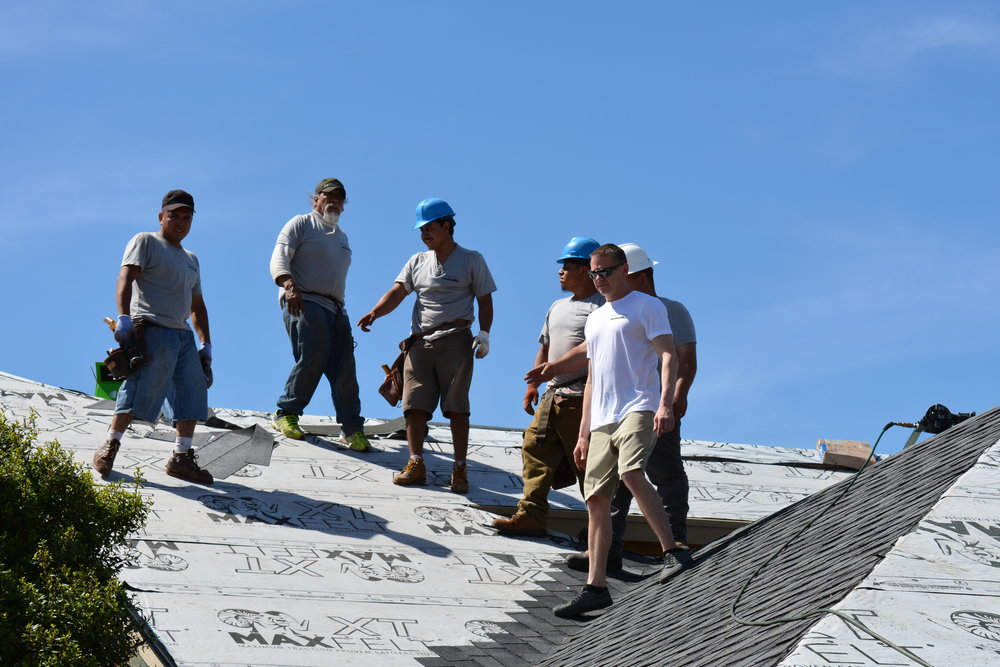meet the roofers