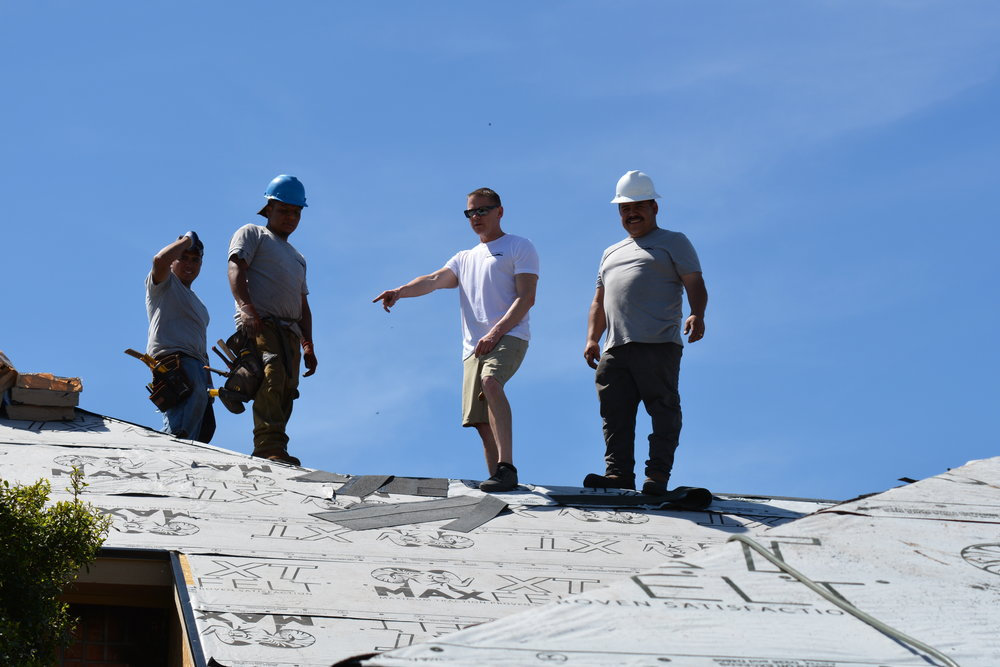 The roofing Contractors