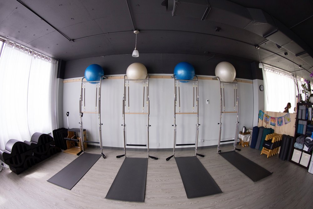 Pilates Wall Towers.