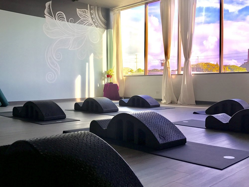 Pilates Essentials Mat Classes are supported with props (Pilates Arc pictured here).