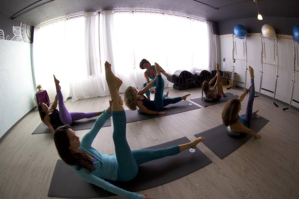 Pilates Essential Level 1 & 2 Mat Classes.