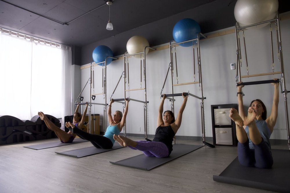 Pilates Equipment Classes.
