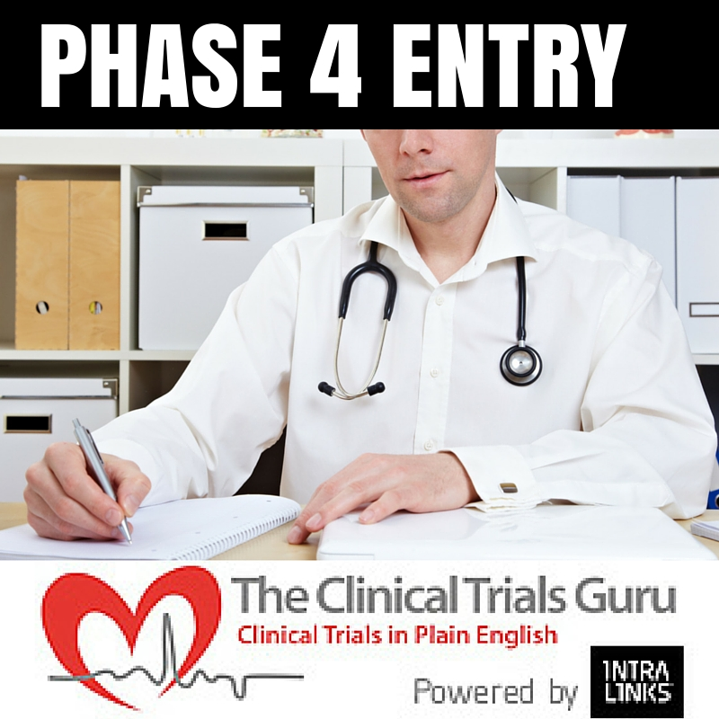 Phase 4 studies can act as a gateway into the world of clinical research.