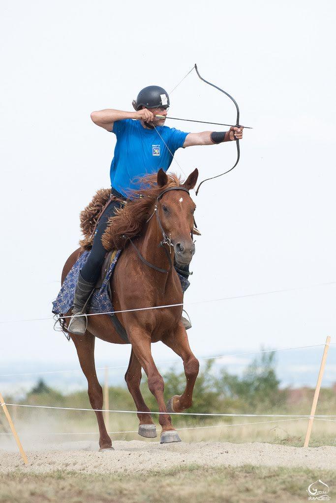 Tävla i beridet - På tävling måste du rida i hästens snabbaste gångart galopp