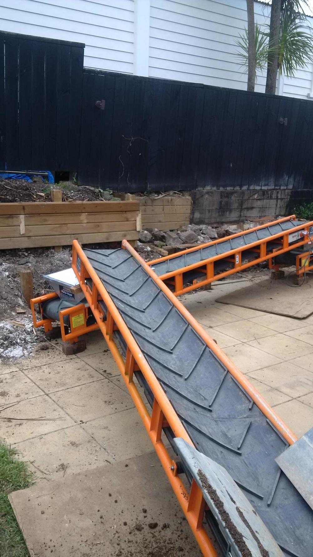 Porta-Veyor portable conveyor