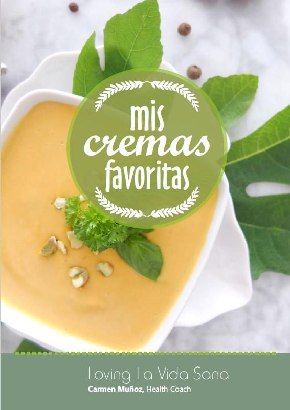 """E-book gratuito """"Mis cremas favoritas"""". Suscríbete a la Newsletter y ¡recíbelo gratis!"""