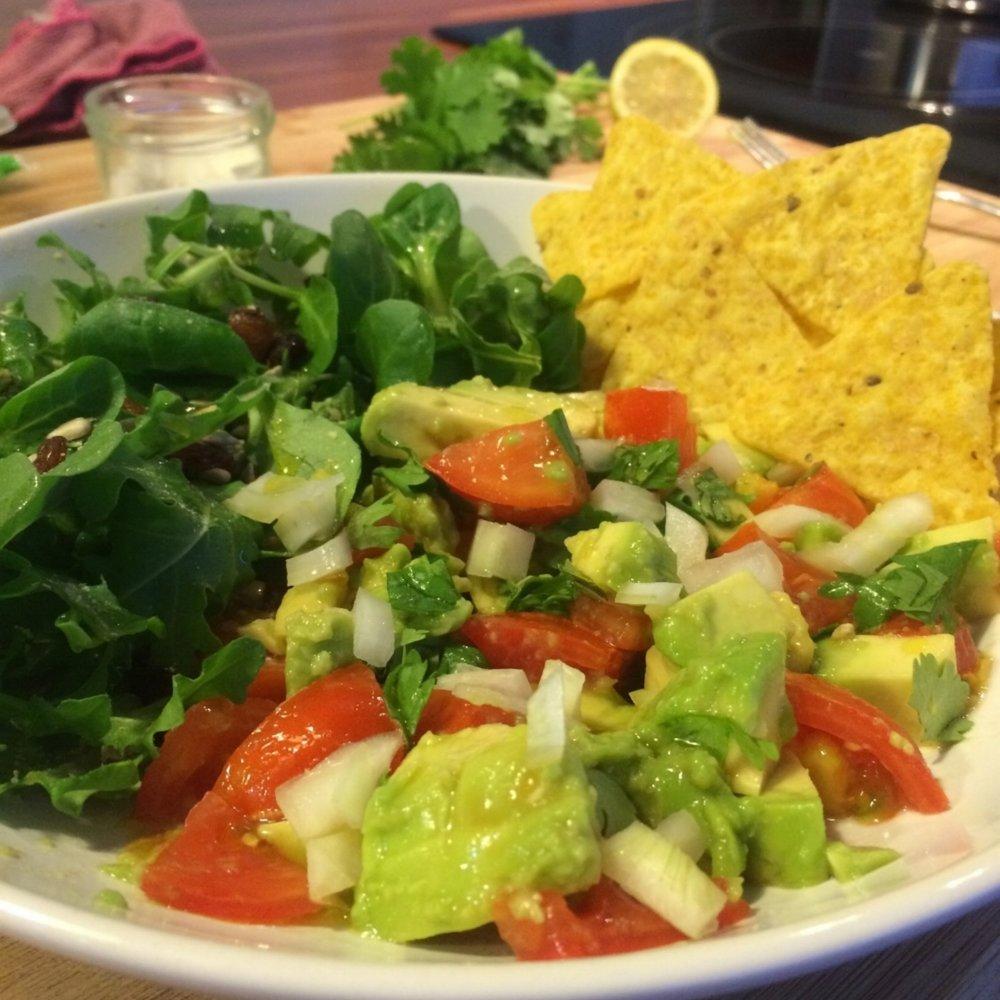 Prueba a acompañarla con nachos de maíz ecológicos o a comerla dentro de una tortilla de maíz. ¡Fusión perfecta!