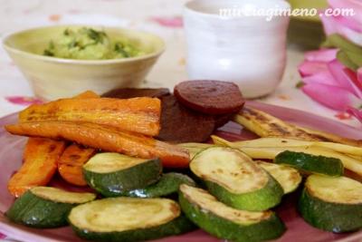 Verduras a la plancha. Autora: Mireia Gimeno