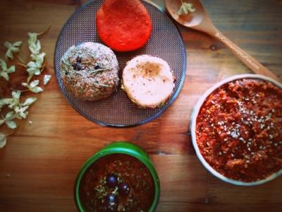 Tabla de quesos y patés. Autora: BioCocina con Pitufina