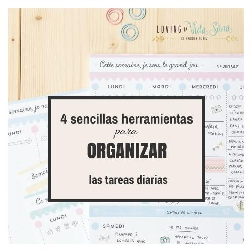 herramientas de organizacion de las tareas diarias
