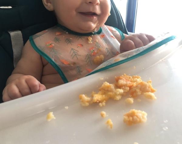 baby led weaning croquetas de mijo