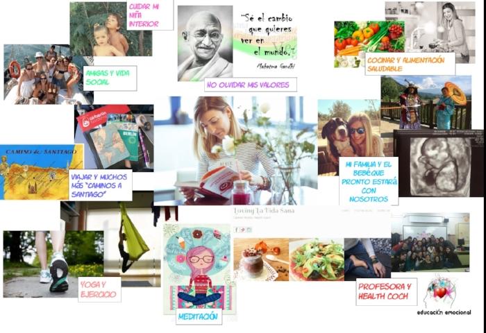 Mi Vision Board del 2017