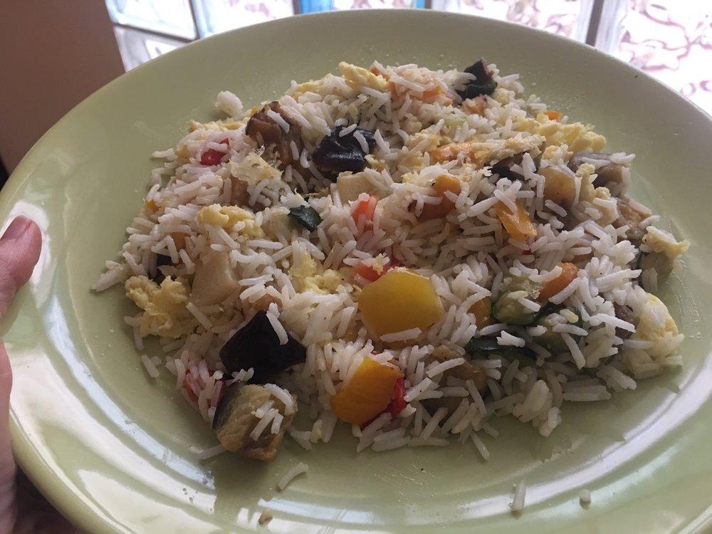 arroz tres delicias bajo en FODMAP