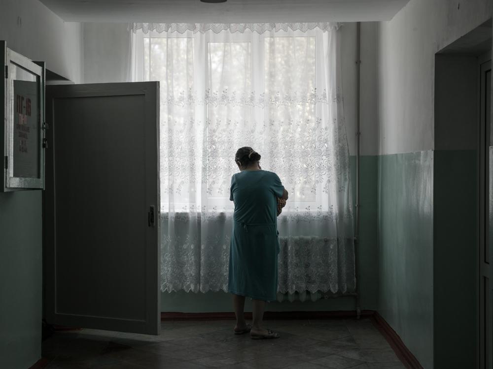 Maternity ward. Kramatorsk, Ukraine. April 8th, 2016.