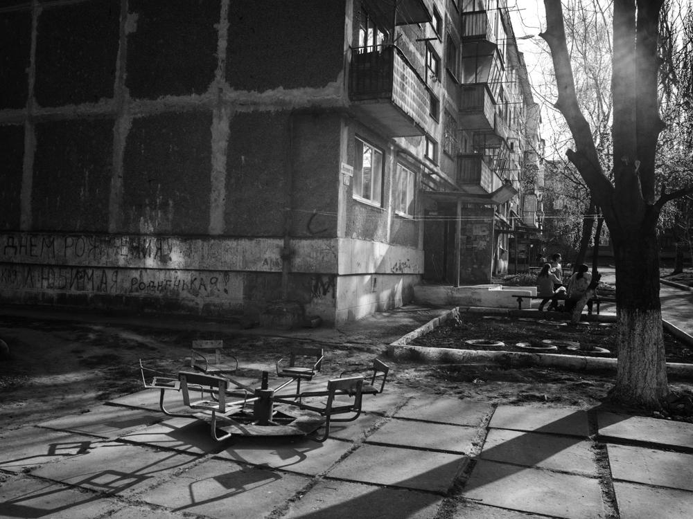 Playground. Kramatorsk, Ukraine. April 8th, 2016.