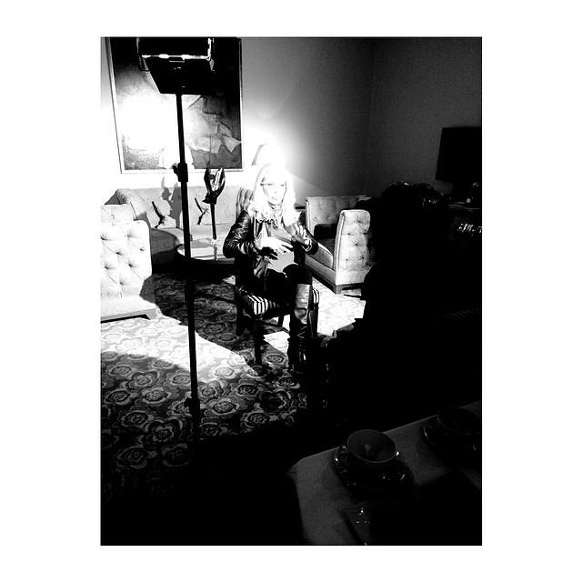 #tournage #amandalear #france5 #entreelibre