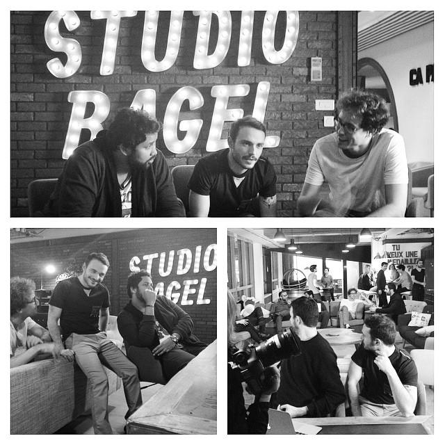 Les nouveaux locaux de @studiobagel @lafermejerome @canalplus