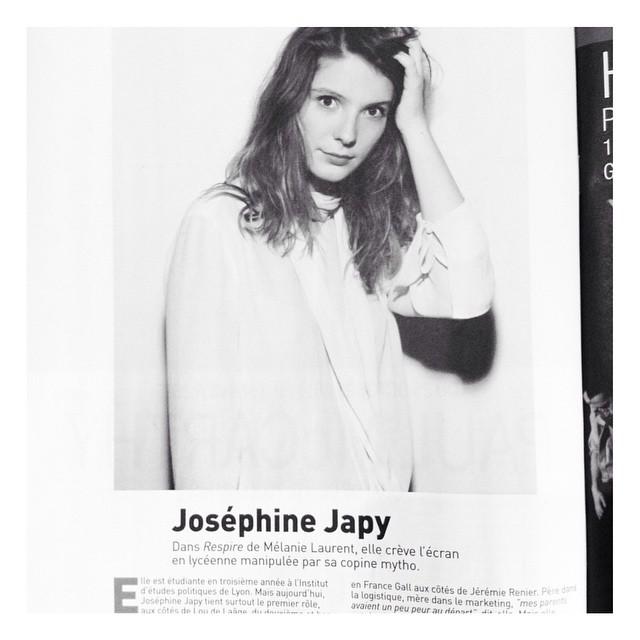#JoséphineJapy @lesinrocks #Respire @gaumontfilms #MelanieLaurent #12Novemre