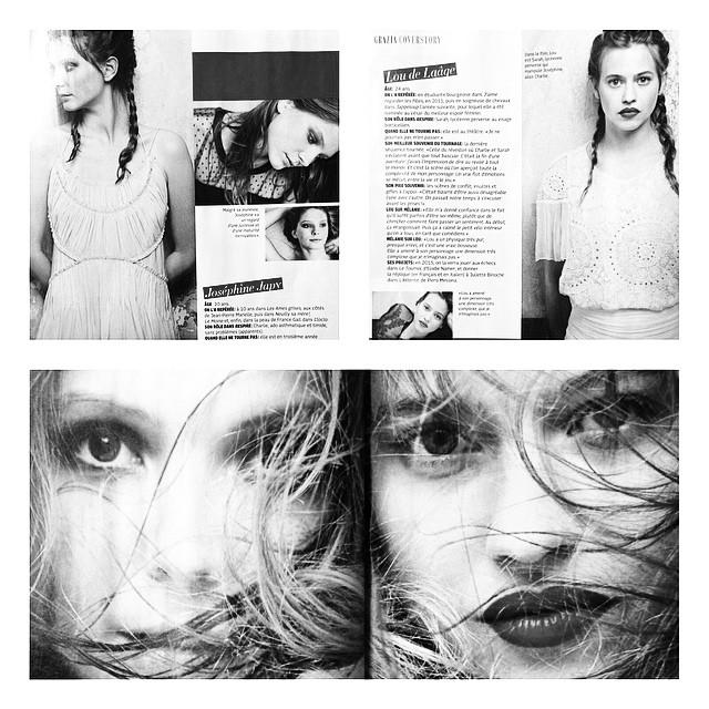 #Loudelaage #JoséphineJapy #Respire @grazia_fr @gaumontfilms #12Novembre #MelanieLaurent